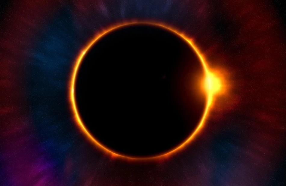 Solar eclipse - Twilight